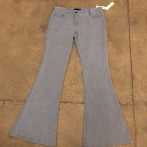 Size 8 Blue flare Theory Jeans